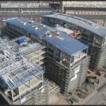 HARMSEN KOMTEC realisiert die Dachlandschaften des neuen BASF Business Center in Ludwigshafen