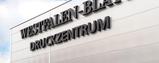 Neues Druckzentrum mit einer Gebäudehülle aus Metallleichtbauelementen